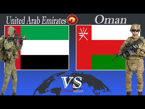 UNITED ARAB EMIRATES vs OMAN military power comparison 2020