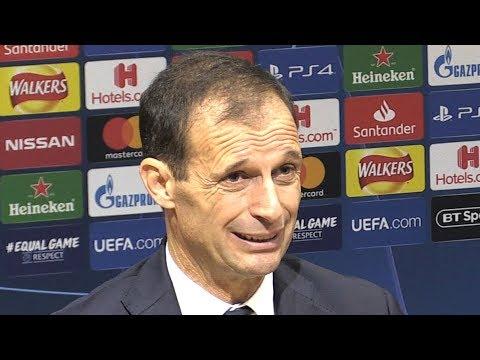Manchester United 0-1 Juventus - Massimiliano Allegri Post Match Press Conference- Champions League