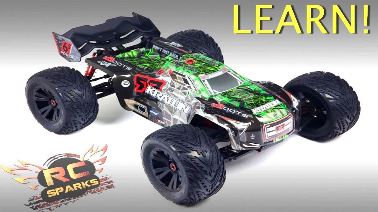 RC ADVENTURES - 10 Important Parts to Know about Electric Monster ...
