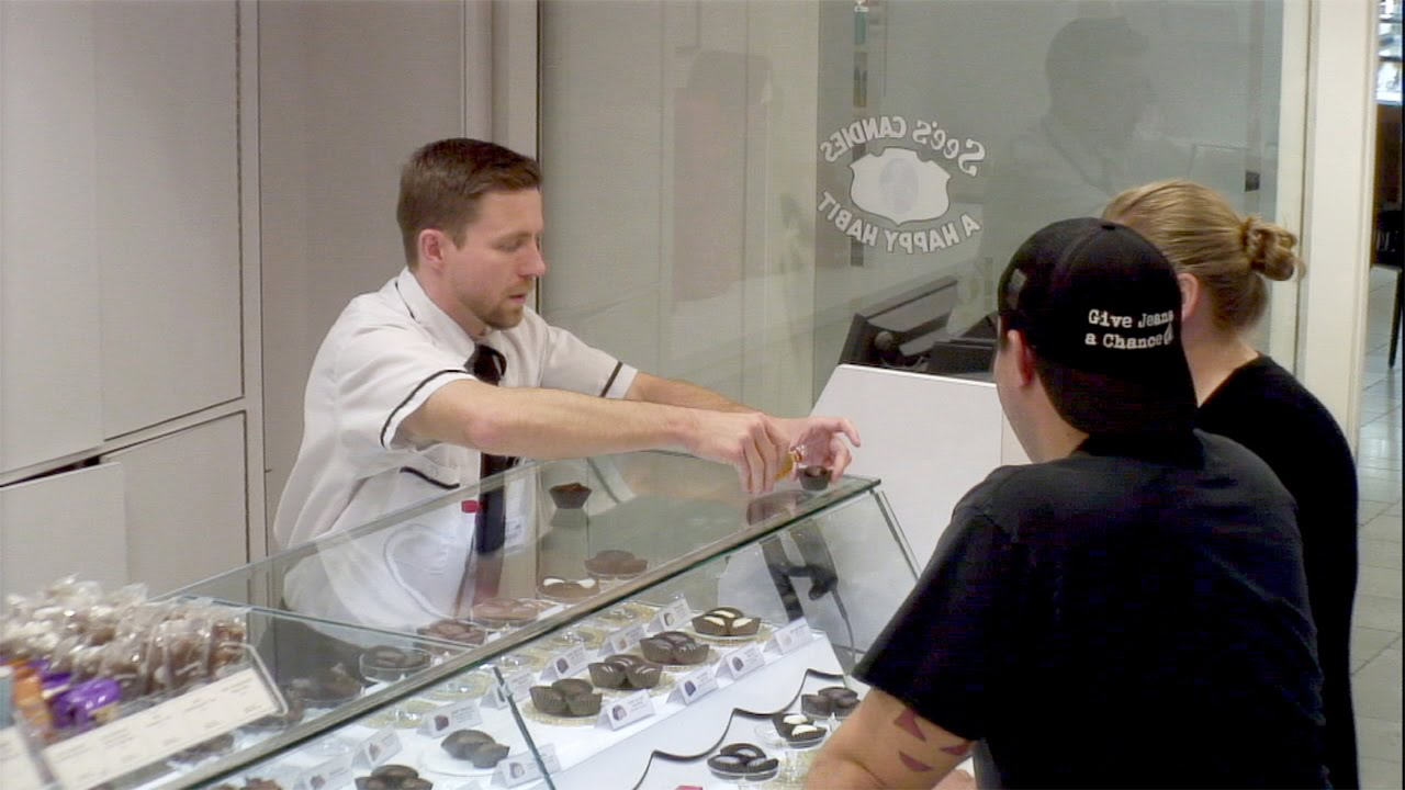 Kevin The Cashier At See S Candy Youtube