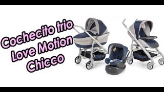 Cochecito Trio LOVE motion Chicco
