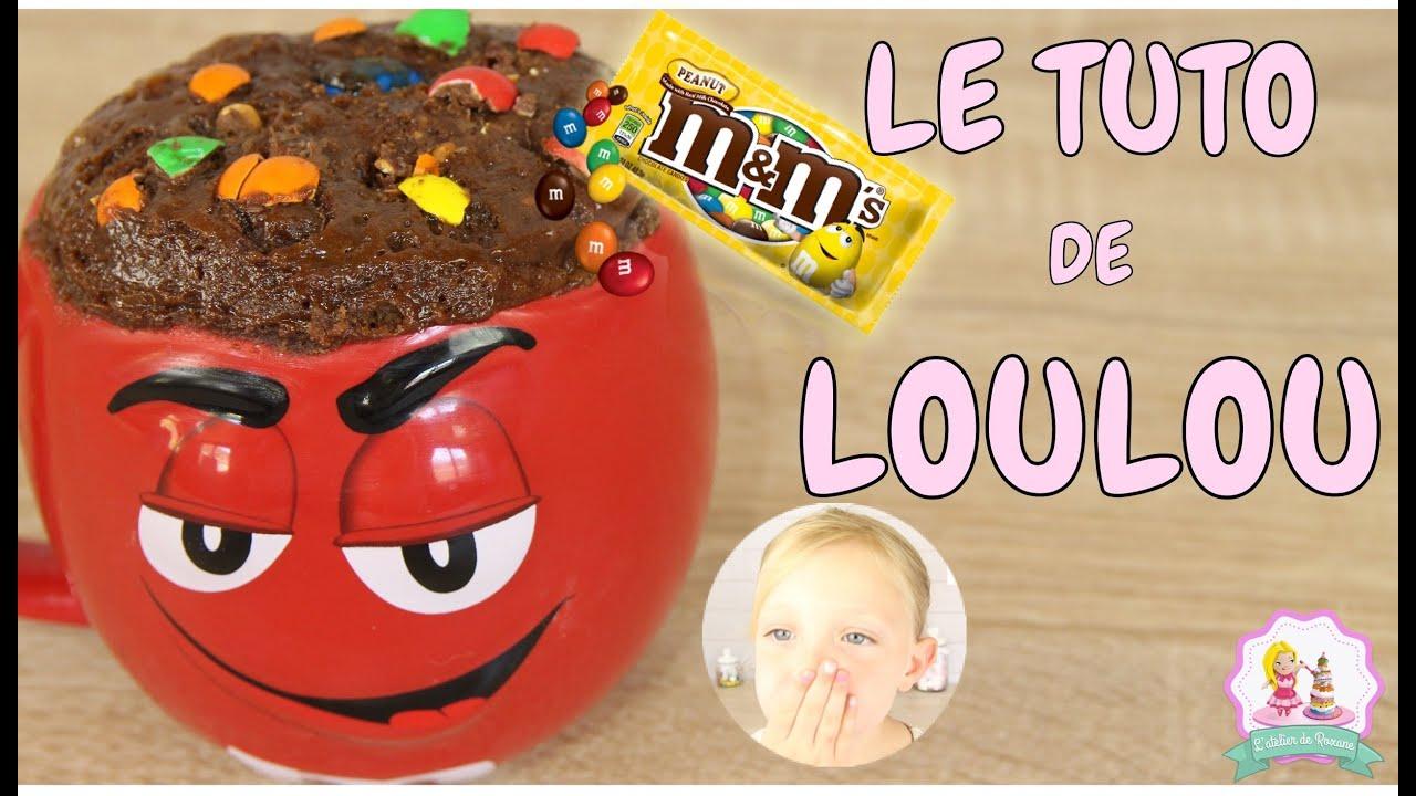 RECETTE MUGCAKE XXL CHOCOLAT ET M&M'S - CUISINE POUR LES ...
