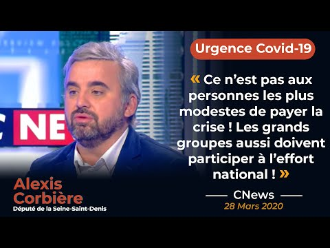 """""""Le gouvernement porte la responsabilité des mauvaises décisions prises!""""' Alexis Corbière sur CNews"""