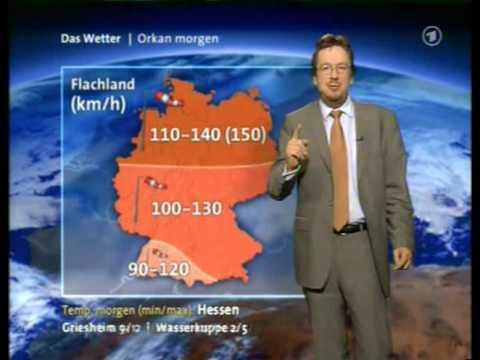 Tagesthemen Wetter 17.01.2007