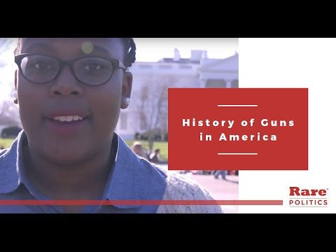 the history of guns in america essay Often helpful in american history — and often harmful — the portable gun has been inarguably some people believe that the pilgrims were among the first people in america to use guns the first gun in america probably came here in 1607, when the colonists first.