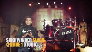 EXPERIENCE OF SUKHWINDER SINGH VISITING ALIVE 1 STUDIO