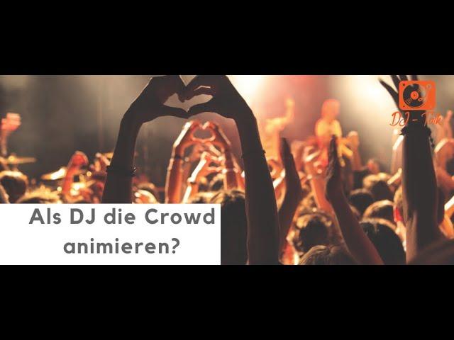 Als DJ die Crowd animieren? Ja oder Nein? | LIVE