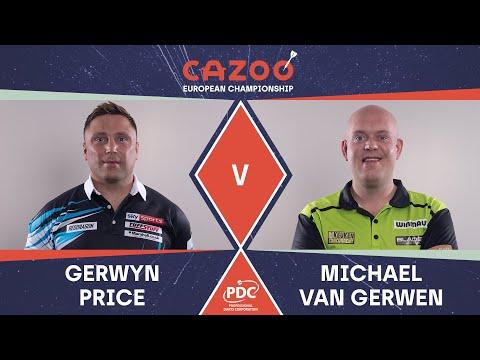ABSOLUTELY INSANE GAME! Price v Van Gerwen   2021 European Championships