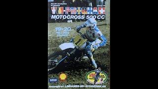 Motocross Malmö GP 1984 500cc Sturup