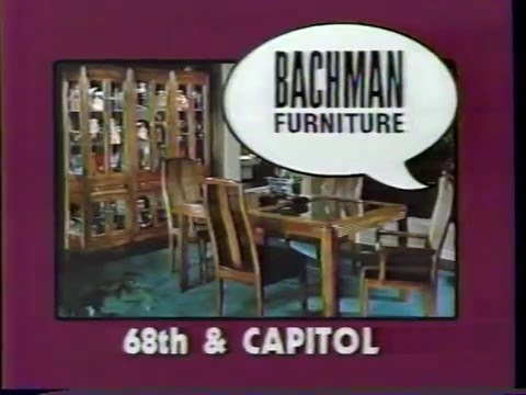 Bachman Furniture  Crazy Not To Buy [10sec] (1985, Milwaukee)