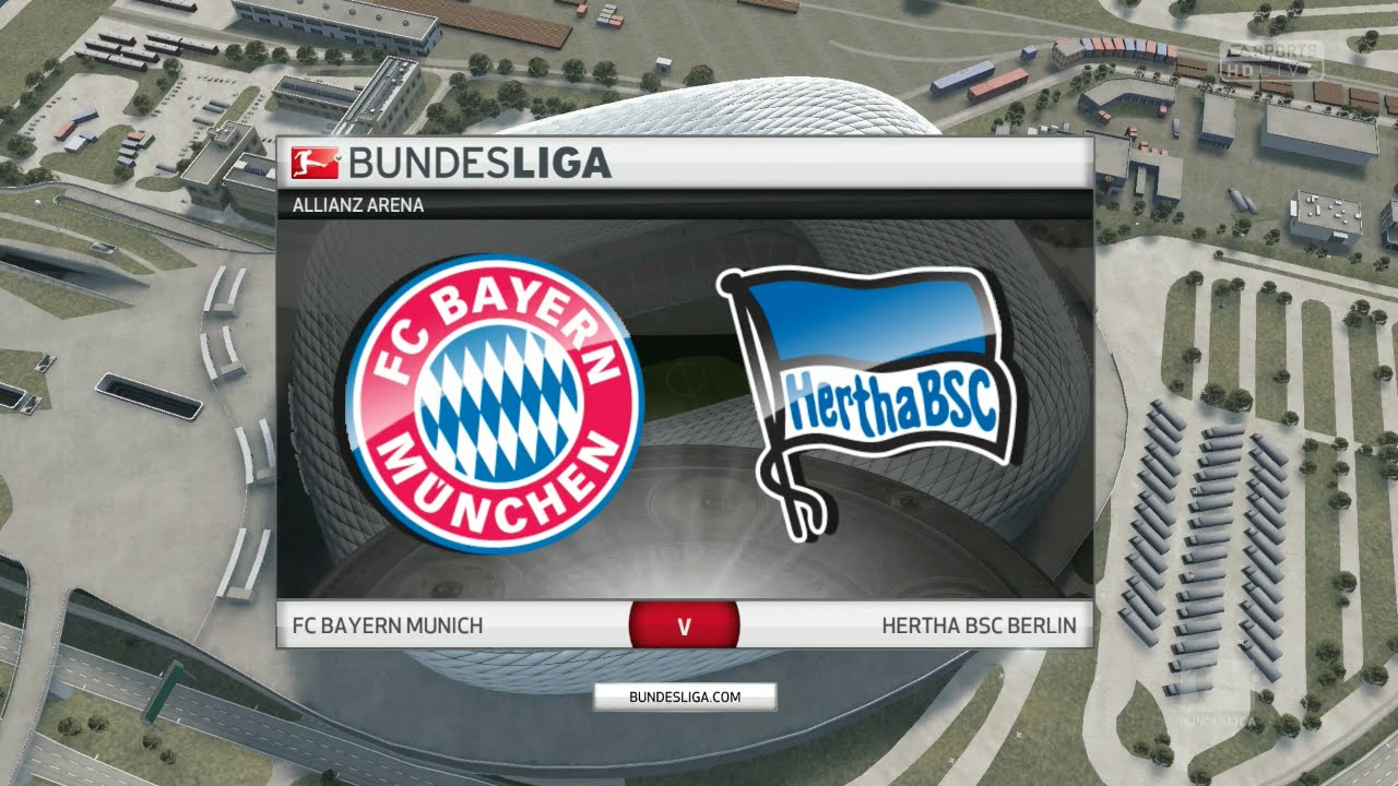 FIFA 16 - FC Bayern München vs. Hertha BSC   Allianz Arena - YouTube 25ae57283
