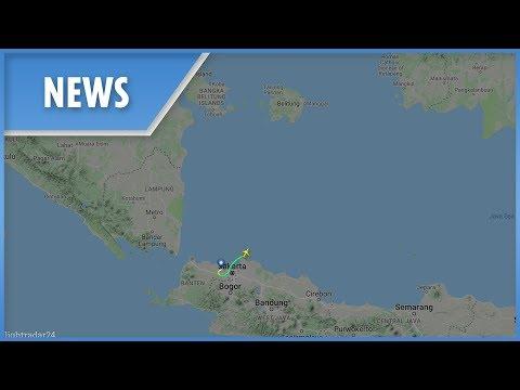 Indonesian plane crash flight radar: track the Lion Air plane's route