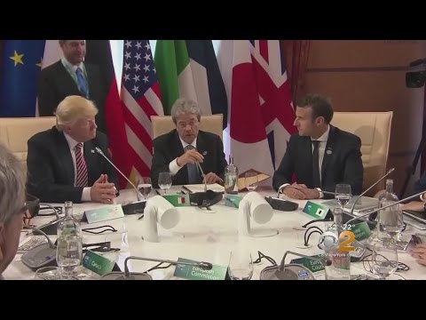 Trump Attends G7 Summit In Sicily