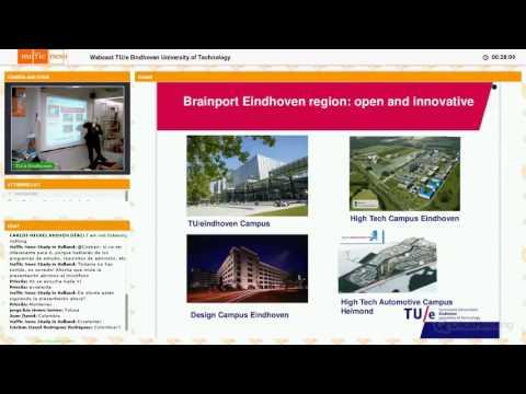 Estudiar en Holanda - Webcast TU/e Eindhoven University of Technology