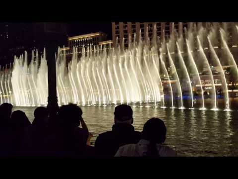 The Bellagio Fountain Show........Classic Song!!!