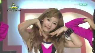 HD 120515 Girls' Generation SNSD TaeTiSeo TTS - Twinkle @ Show Champion