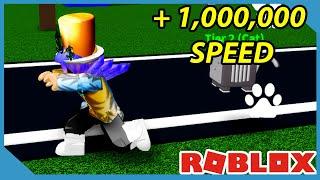 I Got Max Speed In Roblox Speed Turmoil Simulator