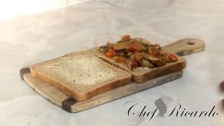 Jamaican Fried Mackerel Sandwich