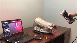 3D Scanning a Transmission Case