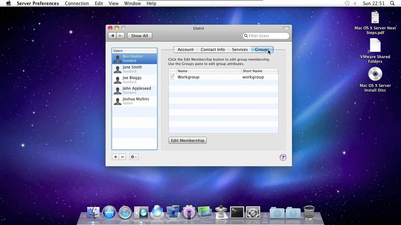 apple mac os x server snow leopard