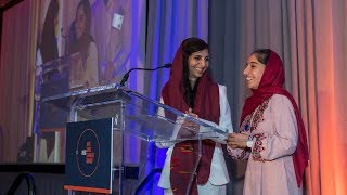Asia Game Changer West Awards: Afghan Girls Robotics Team Acceptance Speech