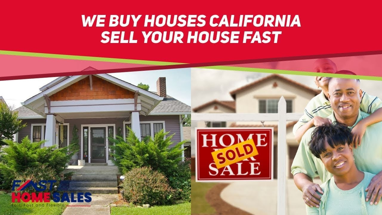 We Buy Houses California - (833) 814-7355 - Fast Home Sales