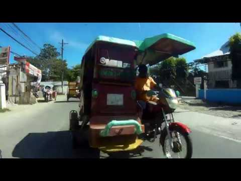 To Grand Mall by Tricycle, Mactan, Cebu, Philippines