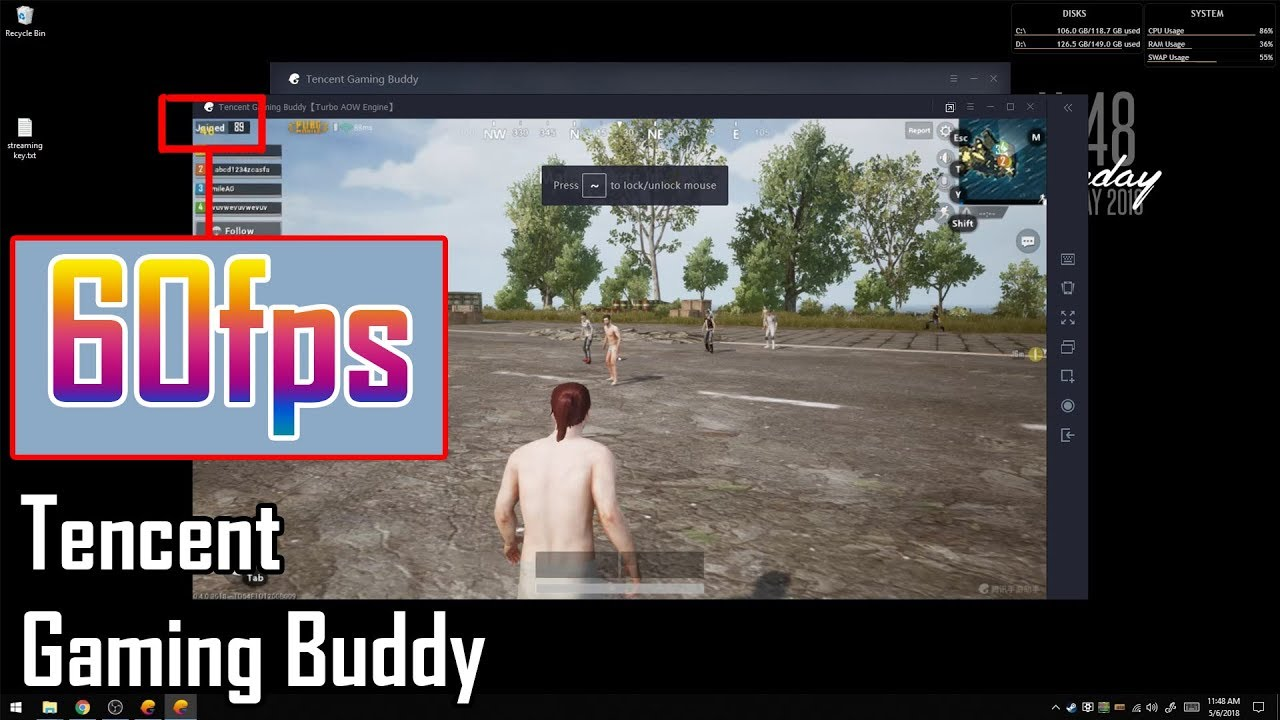 Pubg Mobile Ultra Hd Tencent Gaming Buddy: Unlock 60FPS On Tencent Gaming Buddy Emulator For PUBG
