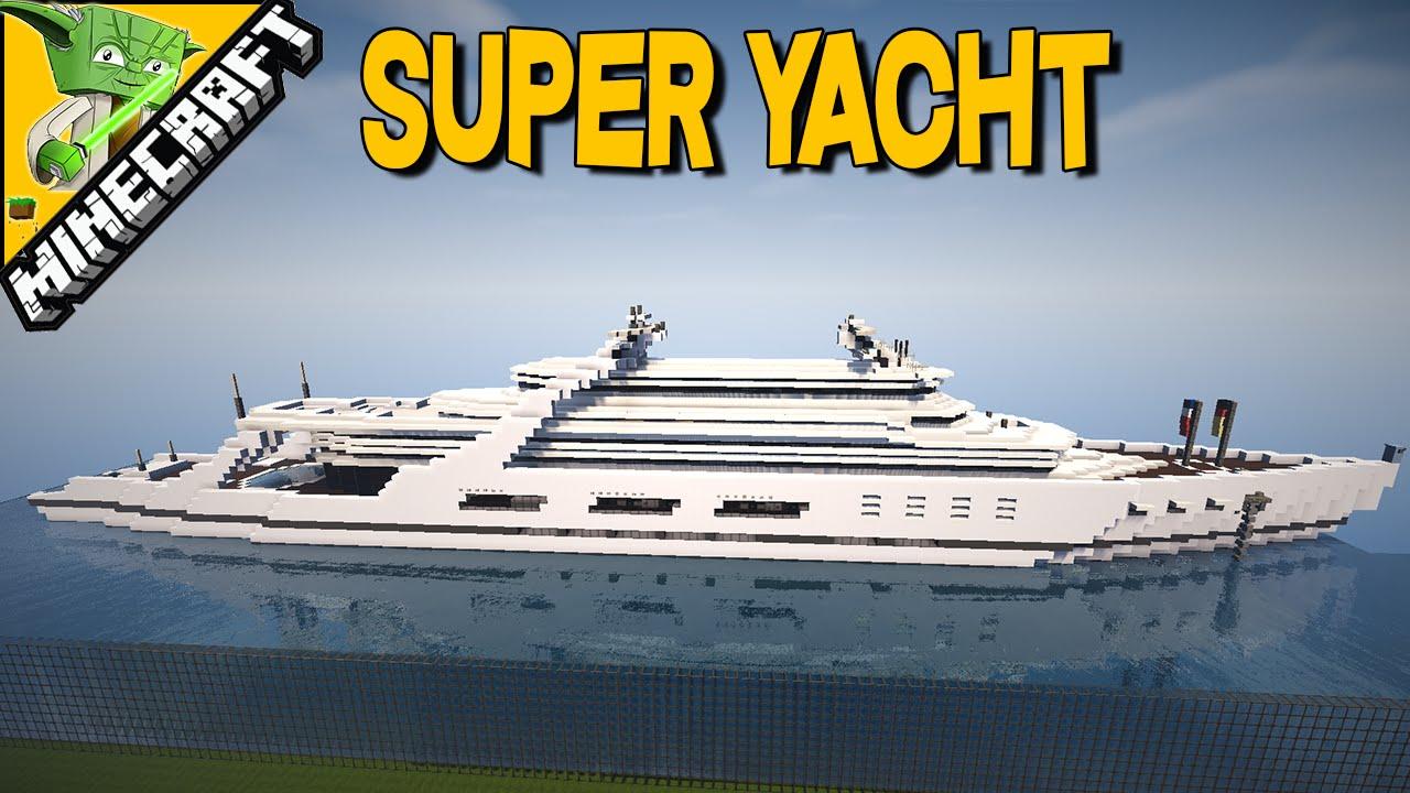 Super Yacht Minecraft Inspriation Series
