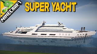 SUPER YACHT - Minecraft Inspriation Series
