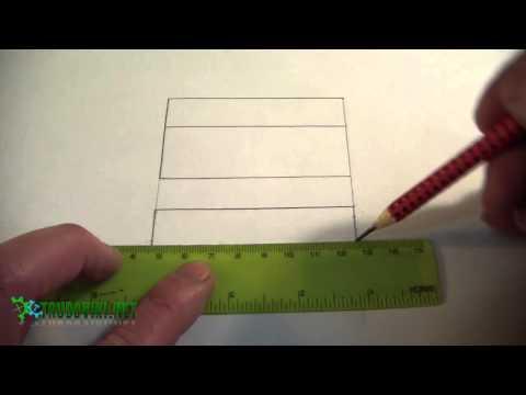 Как правильно нарисовать чертеж детали