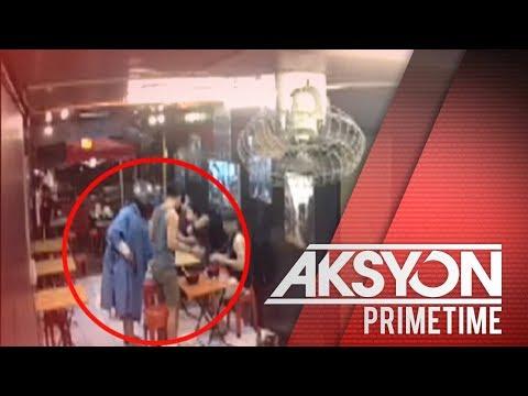 Holdapan sa ramen house sa Makati, sapul sa CCTV