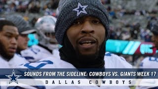 Sounds From The Sideline: Week 17 Cowboys vs. Giants | Dallas Cowboys 2018