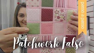 Patchwork Falso com Viés – Reaproveitando Retalhos