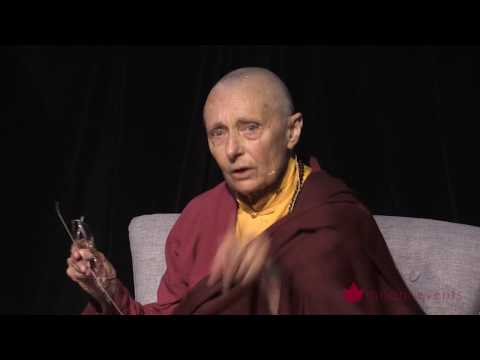 Tenzin Palmo Teaching, Wheel of Life, Samsara in the Raw 5 of 12