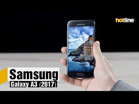 Samsung Galaxy A3 (2017) — обзор младшей модели A-серии 2017 года