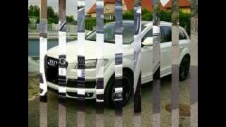 Audi Q7 face lift 2007 blanc Thumbnail
