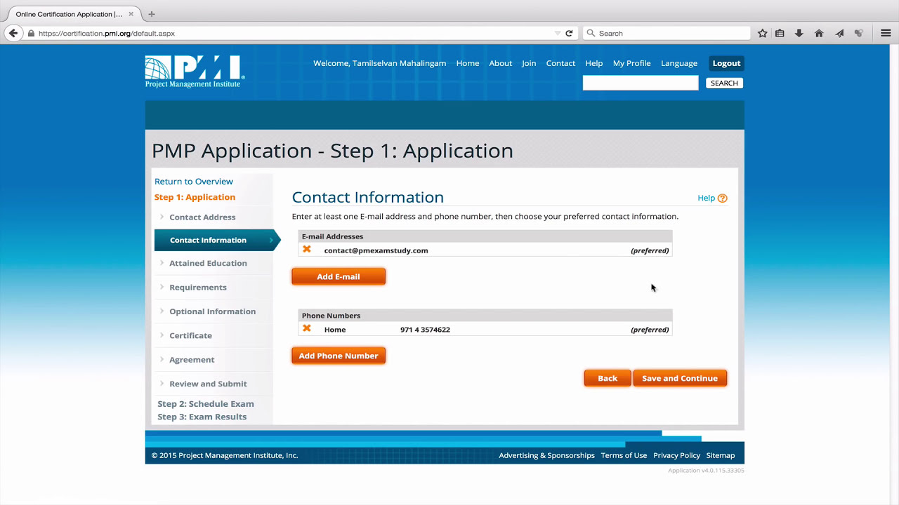 How to fill pmp exam application youtube 1betcityfo Image collections