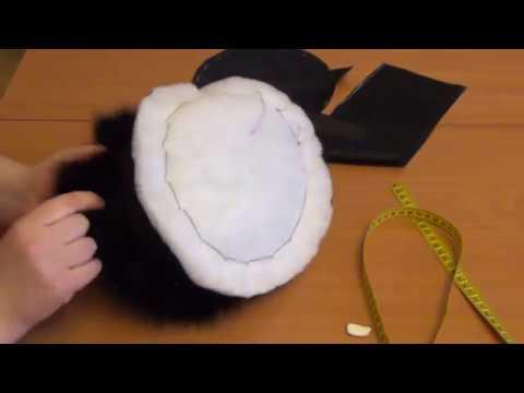 Вязание мехом норки. Зимняя шапка. - YouTube