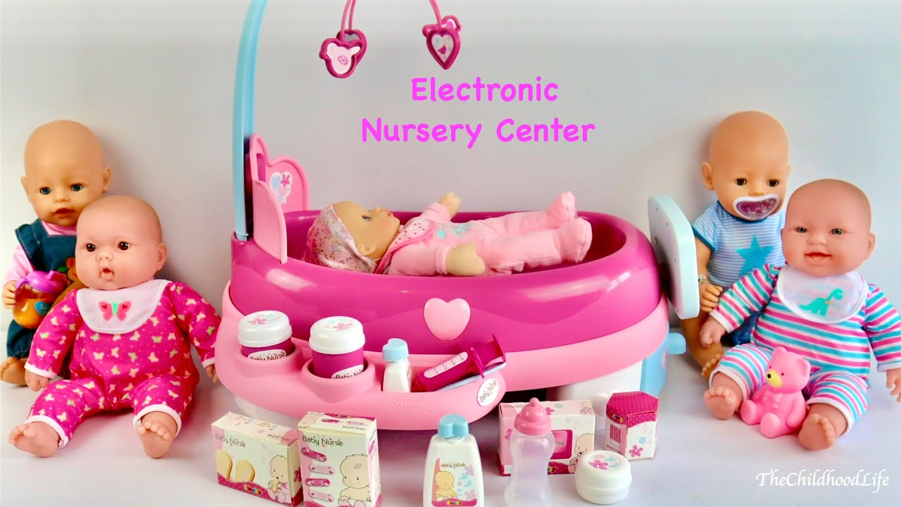 Baby Dolls Electronic Nursery Center Baby Born Baby ...