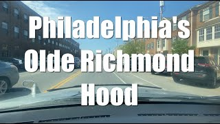 Driving Tour Philadelphia's Olde Richmond Hood | River Wards Section Polish & Irish Area (Narrated)