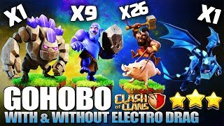 The Rise of Hogs at TH11 - GoHoBo - Hog Event | BEST Three Star Hog Strategy | Clash of Clans