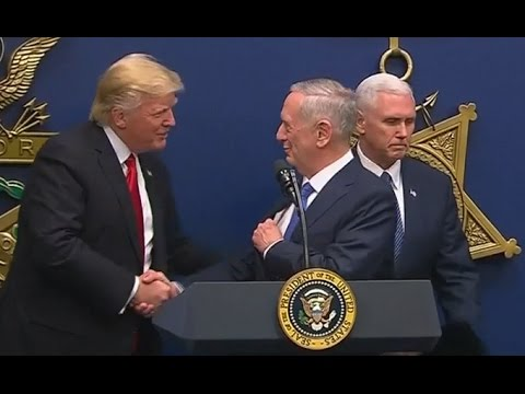 Trump Swears in James Mattis as Secretary of Defense (FULL SPEECH) | ABC News