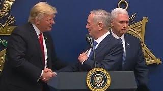 Trump Swears in James Mattis as Secretary of Defense (FULL SPEECH) | ABC News