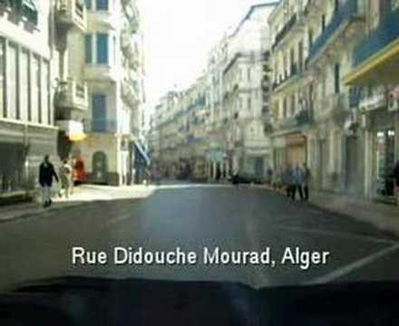 Alger rue didouche mourad youtube for Aquafortland alger piscine