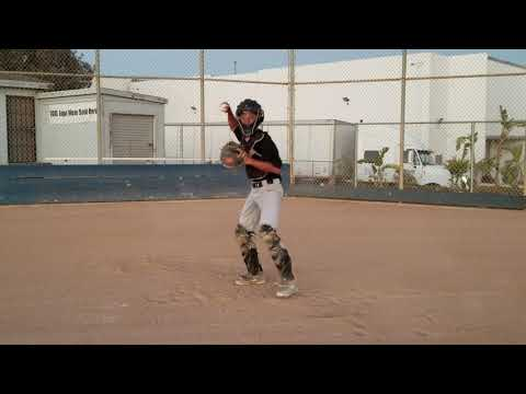 KS - Catcher Bishop Montgomery High School Skills Video