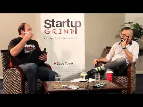 Nic Haralambous (Forefront Africa) at Startup Grind Cape Town