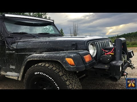 Northern Minnesota Offroading - Fully Explore Trail In A Jeep
