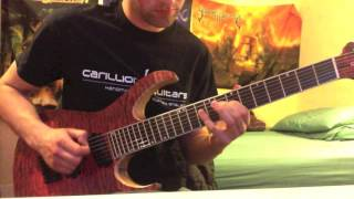 Opeth - Serenity Painted Death - Guitar Solo