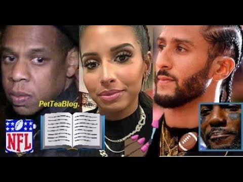 Colin Kaepernick Girlfriend Drags Jay Z For 3 Days Dez Bryant Over Nfl Clears The Air
